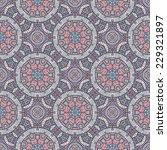 seamless indian pattern.... | Shutterstock .eps vector #229321897
