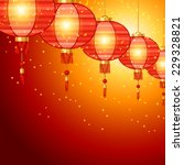 chinese new year background... | Shutterstock .eps vector #229328821