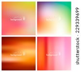 abstract colorful smooth... | Shutterstock .eps vector #229339699
