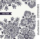 abstract vector background | Shutterstock .eps vector #229351801