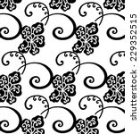 vector wallpaper.lined of black. | Shutterstock .eps vector #229352515
