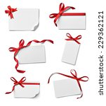 collection of various note card ... | Shutterstock . vector #229362121