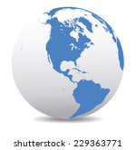 america global world | Shutterstock .eps vector #229363771