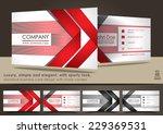 modern business card design | Shutterstock .eps vector #229369531
