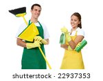 an attractive man and woman...   Shutterstock . vector #22937353