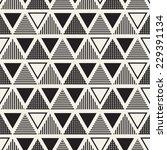vector seamless pattern. modern ... | Shutterstock .eps vector #229391134