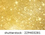 sparkle background   gold... | Shutterstock . vector #229403281