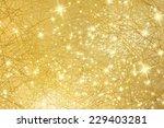 sparkle background   gold... | Shutterstock . vector #229403281