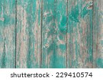 Old Wooden  Barn Board With A...