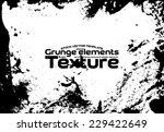 grunge texture   stock vector... | Shutterstock .eps vector #229422649