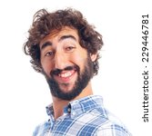 young bearded man   Shutterstock . vector #229446781