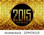 vector   happy new year 2015  ...