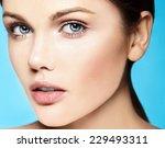 high fashion look.glamor... | Shutterstock . vector #229493311