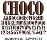 big and small letters of the...   Shutterstock . vector #229496785