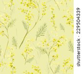 seamless spring pattern with... | Shutterstock . vector #229504339