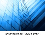 a businessman looking out at... | Shutterstock . vector #22951954