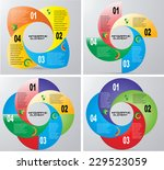 vector circle infographic .  | Shutterstock .eps vector #229523059
