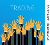 trade concept. eps 10... | Shutterstock .eps vector #229523731