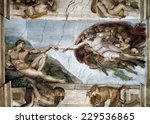 Sistine Chapel  The Creation O...
