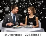 food  christmas  holidays and... | Shutterstock . vector #229558657