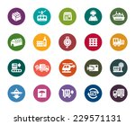 logistics and transport color... | Shutterstock .eps vector #229571131
