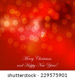 abstract red background | Shutterstock .eps vector #229575901