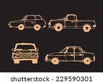car sketch | Shutterstock .eps vector #229590301