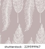 vector seamless pattern with... | Shutterstock .eps vector #229599967