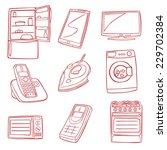 fully editable vector... | Shutterstock .eps vector #229702384