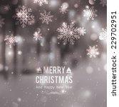 winter night street  vector... | Shutterstock .eps vector #229702951
