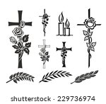 set with decoration for... | Shutterstock . vector #229736974