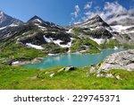 weisssee  white lake in...   Shutterstock . vector #229745371