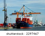 Large Container Ship  Fully...