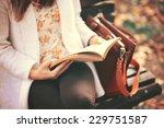 reading a book concept | Shutterstock . vector #229751587