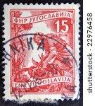 old postage stamp | Shutterstock . vector #22976458