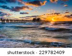 Sunset Over The Fishing Pier...