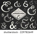 collection of doodle ampersands ... | Shutterstock .eps vector #229782649