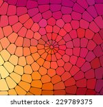 abstract color mosaic... | Shutterstock .eps vector #229789375