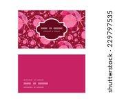 vector ruby horizontal frame... | Shutterstock .eps vector #229797535