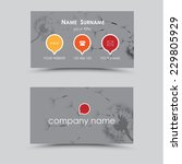modern business card template   ...