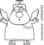 a cartoon illustration of an... | Shutterstock .eps vector #229826581