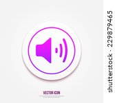 volume icon. speaker icon....