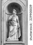 Постер, плакат: Statue of Francesco Petrarca