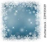 decorative vector holiday... | Shutterstock .eps vector #229935439