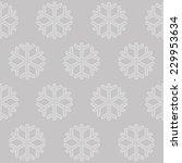 grey snow line pattern | Shutterstock .eps vector #229953634