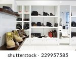 bright and fashionable interior ...   Shutterstock . vector #229957585
