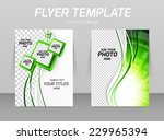 flyer template ecology design... | Shutterstock .eps vector #229965394