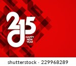 beautiful red color modern...   Shutterstock .eps vector #229968289
