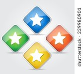 star colorful vector icon design | Shutterstock .eps vector #229980901