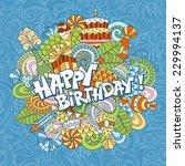 fun  bright and original...   Shutterstock .eps vector #229994137